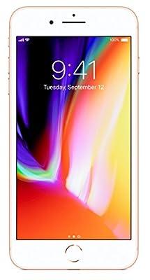 """Apple iPhone 8 Plus, GSM Unlocked 5.5"""" (Certified Refurbished)"""