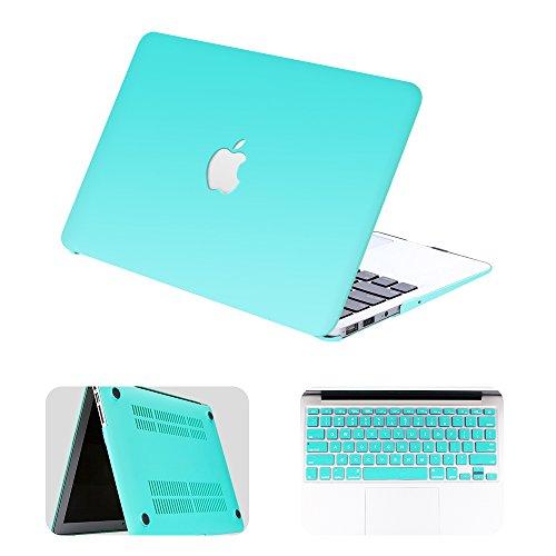 Bodyguard MacBook pro 13 case,Plastic Hard Case with Keyboard Cover for Apple MacBook pro 13 (Vents Logo Set)