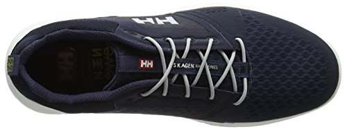 Helly Hansen Skagen F-1 Offshore, Mocassini Uomo Blu (Navy/Graphite Blue/Off 597)