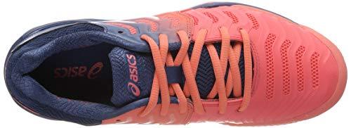7 Gel Rojo Para Mujer Tenis Clay Asics 701 resolution Zapatillas white De papaya TaxzEw