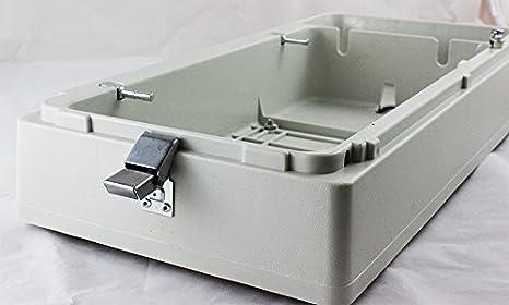 La Canilla - Maleta para Máquinas De Coser Domésticas con Base Plana: Amazon.es: Hogar