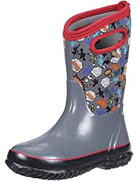 Bogs Boy's Classic Planes Waterproof Winter Boot