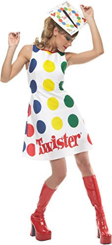[Twister Game Costume - Medium - Dress Size 8-10] (Twister Game Costumes)