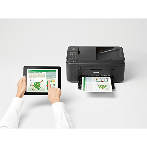 Canon PIXMA MX492 WiFi All-In-One Compact Size Inkjet Printer (0013C002) w/ Canon Black Ink Bundle Includes, Genuine Canon Black Fine Ink Cartridge, 6-Outlet Surge Adapter & 1 Year Extended Warranty by Beach Camera (Image #5)