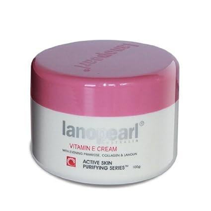 Amazon com: Lanopearl Vitamin E & EPO Cream 100 ml  (lanolin