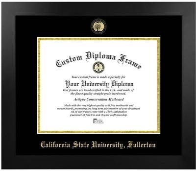 Cal State University Fullerton Most Popular Diploma Frame by Diploma Frame Deals