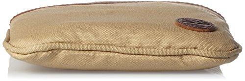 Timberland Ca1Lu7, Borse Messenger Unisex �?Adulto, Marrone (Kelp), 2x22x18 cm (B x H x T)