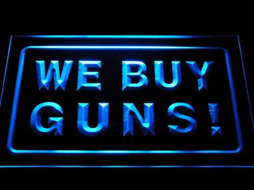 We Buy Guns Shop Firearms LED Sign Neon Light Sign Display i1009-b(c)