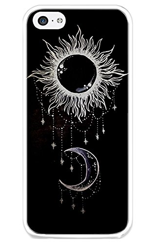 iPhone 5C Case Back Cover Snap on Case for iPhone 5C Ancient Tatoo Pattern