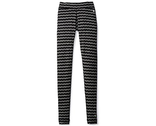 Underwear Smartwool Long (Smartwool Women's NTS Mid 250 Pattern Bottoms Black/Charcoal Pants)