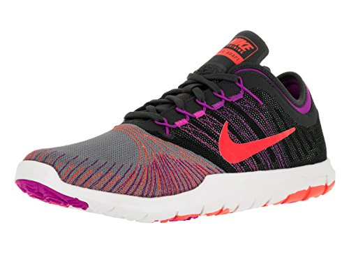 Nike Mujer Flex adaptarse TR baja formación zapatos Running ligero Casual zapatos Running Zapatillas deportivas negro/blanco/naranja/rosa Cool Gray total crimson 831579 004 Cool Gry/Ttl Crimson/Anthracite/Hypr