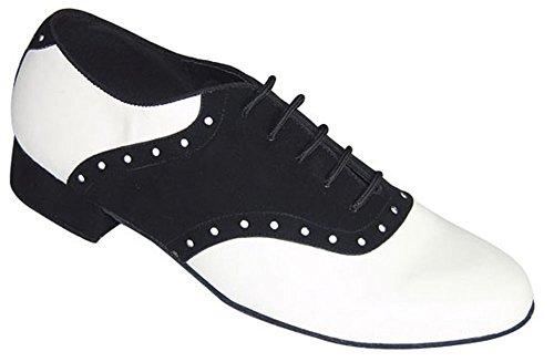 Blaue Glocke Schuhe handgemachte Herren Steffan Ballroom Dance Schuhe (Wettbewerb)