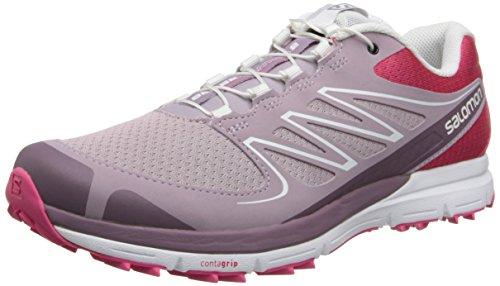 UPC 887850311032, Salomon Women's Sense Mantra 2 W Trail Running Shoe,Hot Pink/Crocus Purple/White,7.5 M US
