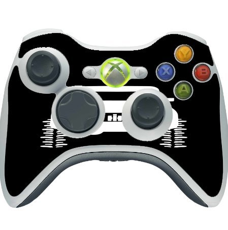 4x4 Offroad Off Road Vehicle Black Background Xbox 360 Wireless Controller Vinyl Decal Sticker Skin by Moonlight Printing (Best Off Road Games For Xbox 360)