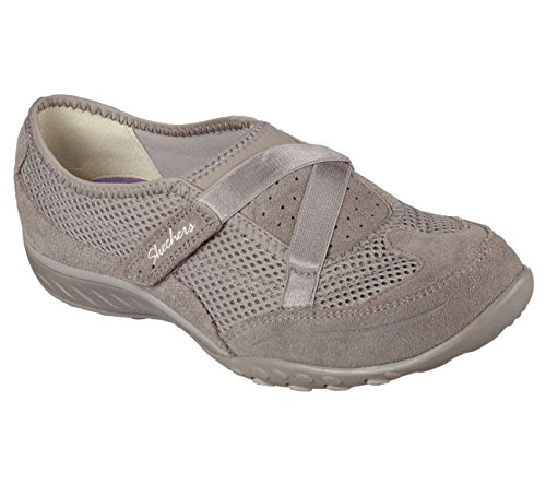 Walking Lett Sko Sports To Like Skechers Taupe Puste Kvinners qY7w61t