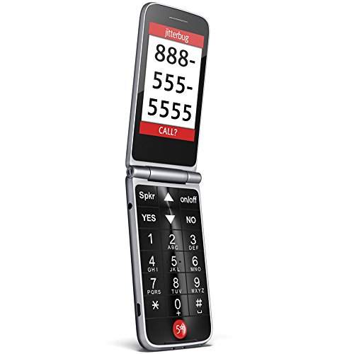 GreatCall Jitterbug Flip Easy-To-Use Cell Phone for Seniors