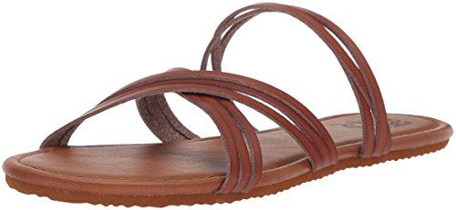 Di Donne Piedi Billabong Marrone Deserto Sandalo Piatto Dei Dita Delle Sabbia AZxHzq