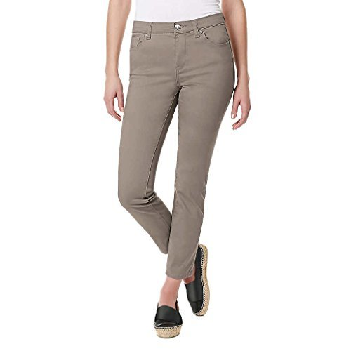 (Buffalo David Bitton Ladies' Ankle Length Skinny Pant (6/28, Tan))