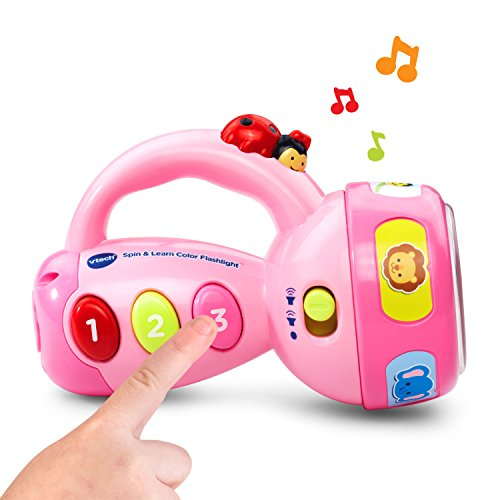 41Q38s69Z8L - VTech Spin and Learn Color Flashlight - Pink - Online Exclusive