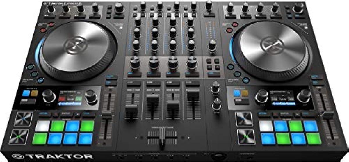 [해외] NATIVE INSTRUMENTS 네이티브 인 스트루멘츠/4데크 DJ콘트롤러 TRAKTOR KONTROL S4 MK3