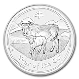 2009 Australian Lunar Series II - Year of the Ox (2 Oz Silver Coin)