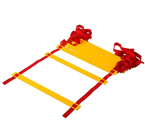 Generic Adjustable Flat Rung Agility Ladder with Free Carry Bag by Generic (Image #1)