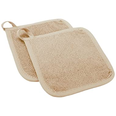 Ritz Royale Collection Pot Holder Set, Latte, 2-Piece