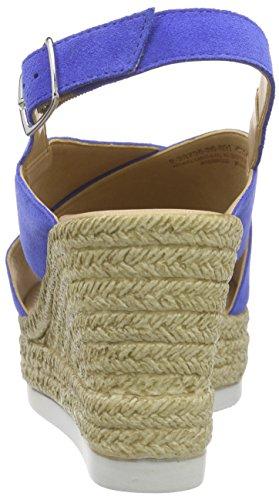 Marco Tozzi Premio 28735 - Sandalias Mujer Azul - Blau (COBALT 889)