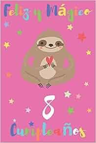 Amazon.com: Feliz y Mágico 8 Cumpleaños: Regalo para Niños o ...