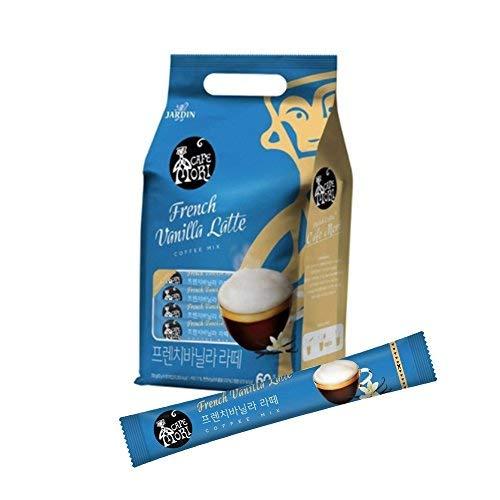 Jardin Jardin café mori francés vainilla latte sachets 60 porciones: Amazon.es: Alimentación y bebidas