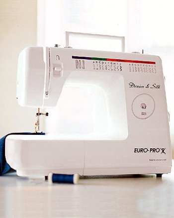 EuroPro Denim Silk 40 Stitch Sewing Machine 40 Amazonca Home Delectable Euro Pro Denim And Silk Sewing Machine