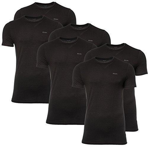 Hombre 4er-Pack Camiseta Cuello V, Camiseta Interior Media Manga, Algodón Ajustados, Liso: Amazon.es: Ropa y accesorios