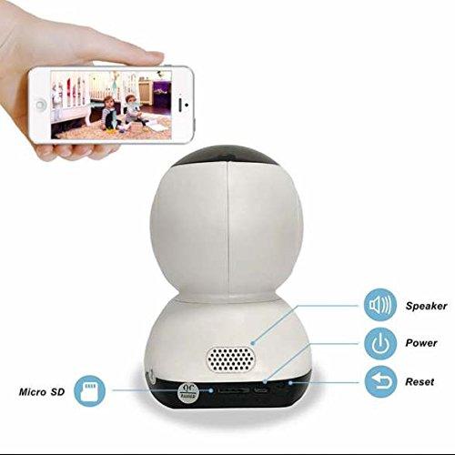 Indoor 720p Wireless ip kamera Remote-Wiedergabe,eingebaute Infrarotbeleuchtung,PIR Nachtsichtmodus,P2P Überwachungstechnik,drahtlos Alarmanlagen,bidirektionaler Sound