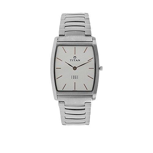 Tonneau shaped watch for men