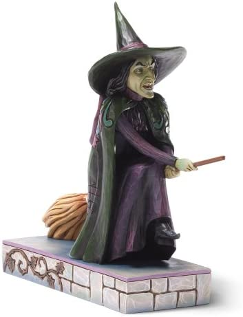 Enesco Jim Shore Wizard of Oz Wicked Witch Of The West Figurine, 7.625-Inch
