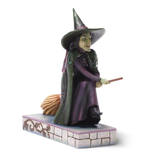 Of Oz Wizard Wedding - Enesco Jim Shore Wizard of Oz Wicked Witch Of The West Figurine, 7.625-Inch