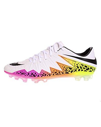 Nike Herren Hypervenom Phinish AG-r Fußballschuhe, Bunt Blanco (Blanco (White/Black-Total Orange-Volt))