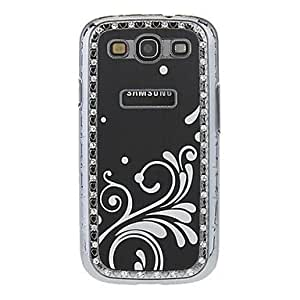 JOE HD Screen Protector + Stylus Pen + Aluminum Chrome Hard Cover Case for Samsung Galaxy S3 I9300 , Blue