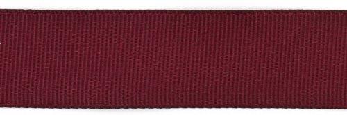 Polyester Grosgrain Ribbon - Kel-Toy Polyester Grosgrain Ribbon, 7/8-Inch by 25-Yard, Burgundy