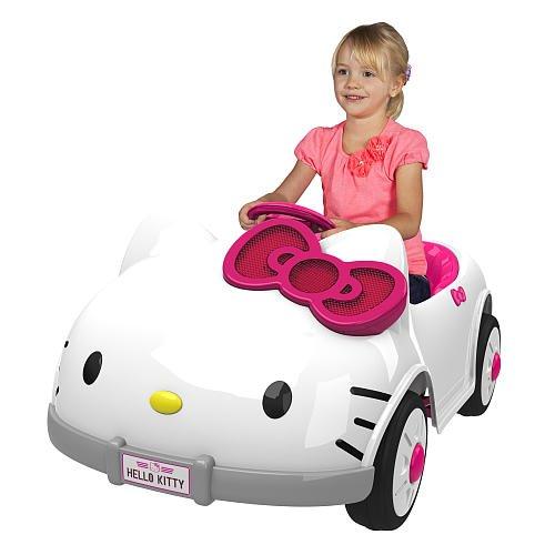 hello kitty 6 volt car - 5