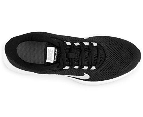 Nike Kvinnor Runallday Löparskor Svart / Vit-wolf Grå