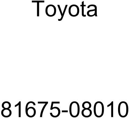 Toyota 81675-08010 Back-Up Lamp Socket and Wire