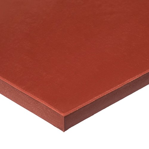 USA Sealing - Silicone Rubber Sheet with High Temp Adhesive - 60A - 1/8