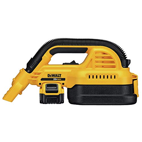 DEWALT DCV517M1 20V MAX Cordless 1/2 gallon Wet/Dry Portable Vac Kit
