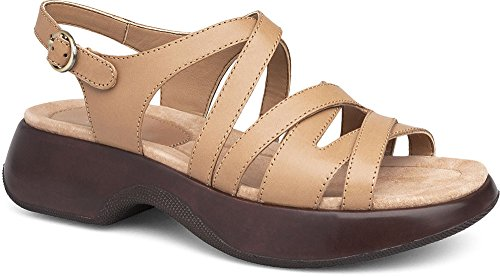 Dansko Womens Sandals Lolita Sand, Size-38 by Dansko Shoes