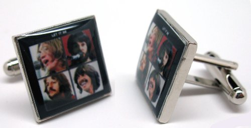 Let It Be Album Cover Cufflinks Cuff Links Music Rock and Roll