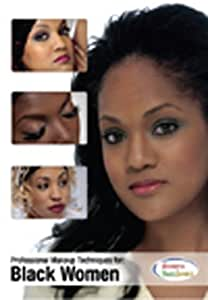 Professional Makeup Techniques for Black Women - Professional Makeup Artist Training DVD For Dark Skin - Educational Cosmetology Video Featuring Natural and Dramatic Looks - Makeup Artist Training With Hollywood Makeup Artist Melvone Farrell
