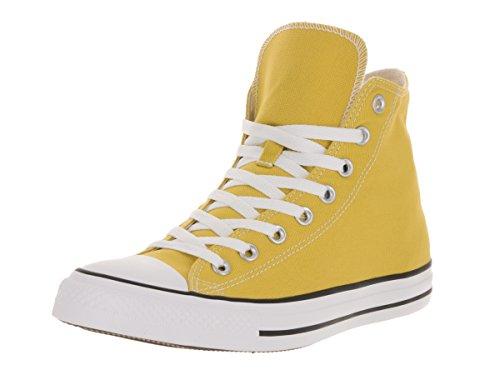 Converse Unisex Chuck Taylor All Star Hi Top Seasonal Fashion Sneaker Shoe - Bitter Lemon - Mens - (Yellow Converse Shoes)