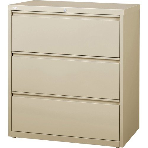 (Lorell LLR88027 3-Drawer Lateral Files, 36