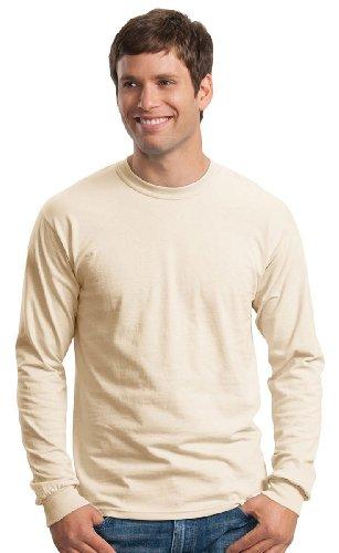 Gildan Ultra Cotton 6 Oz. Long-Sleeve T-Shirt (G240)- - Cotton Ultra Heavyweight T-shirt